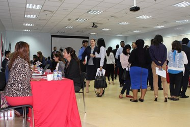 Career Day at Middlesex University Dubai