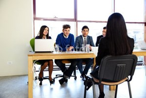 What is the right job interview etiquette?